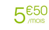5.50€/mois