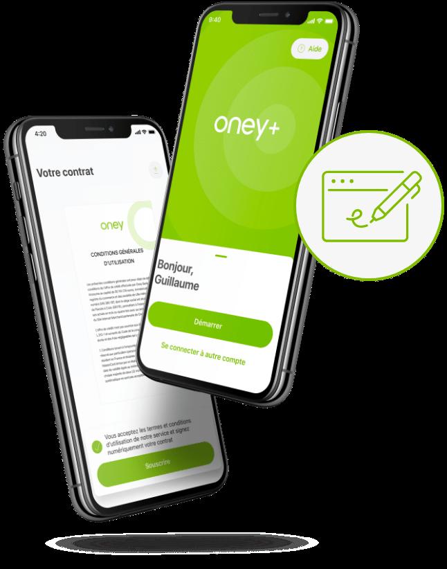 Souscrire application Oney+